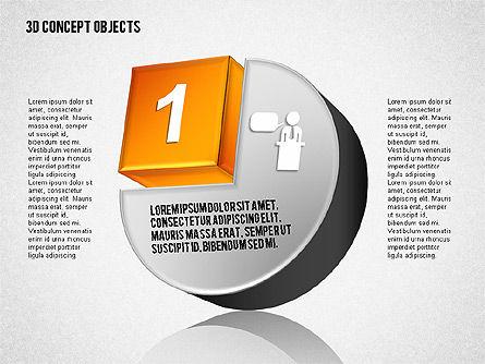 3D Concept Objects Set Slide 2