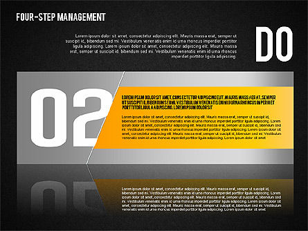 PDCA Cycle, Slide 14, 01676, Process Diagrams — PoweredTemplate.com