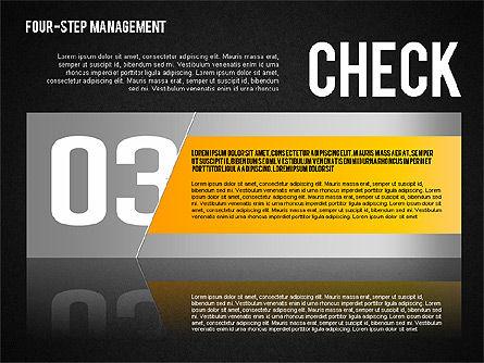 PDCA Cycle, Slide 15, 01676, Process Diagrams — PoweredTemplate.com