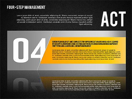 PDCA Cycle, Slide 16, 01676, Process Diagrams — PoweredTemplate.com