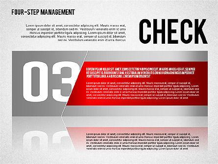 PDCA Cycle, Slide 7, 01676, Process Diagrams — PoweredTemplate.com
