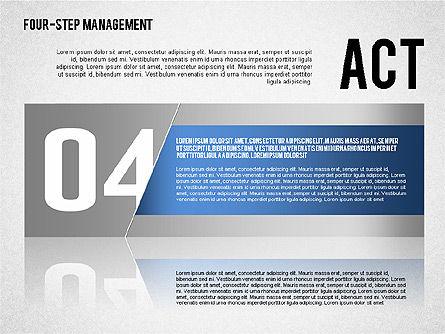 PDCA Cycle, Slide 8, 01676, Process Diagrams — PoweredTemplate.com