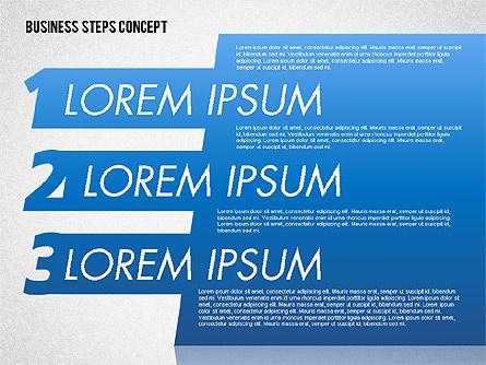 Three Steps Concept Slide 3