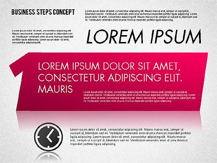 Three Steps Concept Slide 4