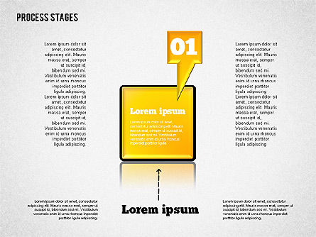 Process Diagrams: Tahap Proses Toolbox #01681