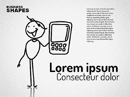 Shapes: Internet Communication Character #01684