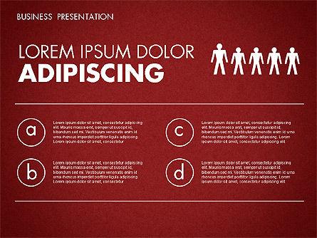Business Presentation Toolbox, Slide 11, 01686, Presentation Templates — PoweredTemplate.com