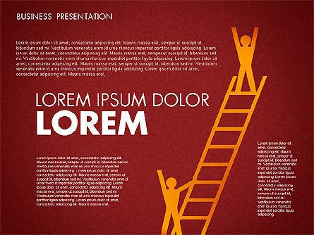 Business Presentation Toolbox, Slide 15, 01686, Presentation Templates — PoweredTemplate.com