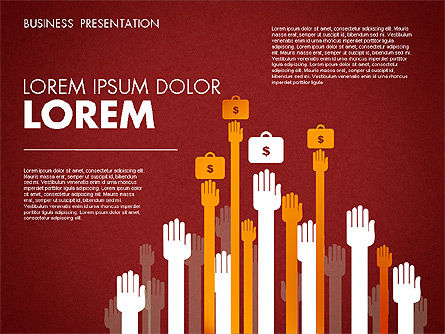 Business Presentation Toolbox, Slide 16, 01686, Presentation Templates — PoweredTemplate.com