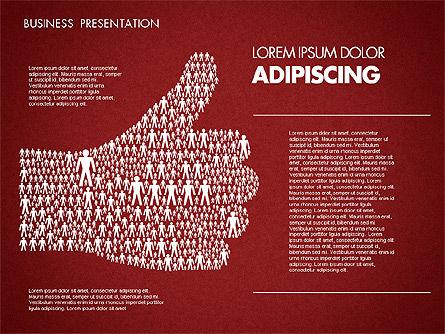 Business Presentation Toolbox, Slide 3, 01686, Presentation Templates — PoweredTemplate.com