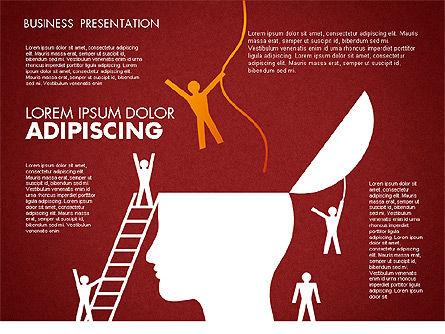 Business Presentation Toolbox, Slide 5, 01686, Presentation Templates — PoweredTemplate.com