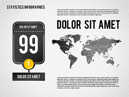 Road Statistics Infographics, Slide 3, 01689, Business Models — PoweredTemplate.com