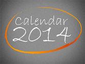 Timelines & Calendars: Calendrier 2014 #01695