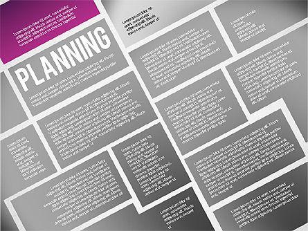 Online Project Planning, Slide 2, 01697, Business Models — PoweredTemplate.com
