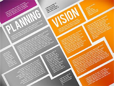 Online Project Planning, Slide 3, 01697, Business Models — PoweredTemplate.com