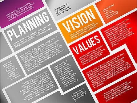 Online Project Planning, Slide 4, 01697, Business Models — PoweredTemplate.com