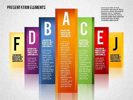 Business Models: Colunas coloridas #01698