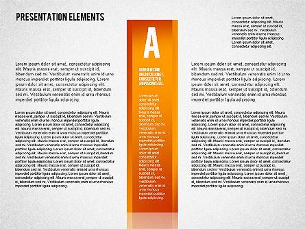 Colorful Columns, Slide 2, 01698, Business Models — PoweredTemplate.com