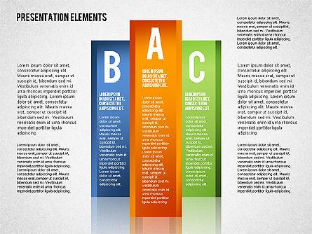 Colorful Columns, Slide 4, 01698, Business Models — PoweredTemplate.com