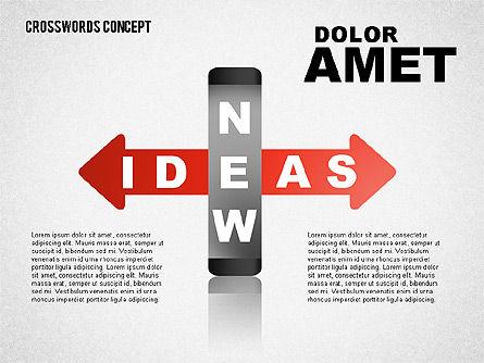Crossword Concept, Slide 2, 01701, Business Models — PoweredTemplate.com