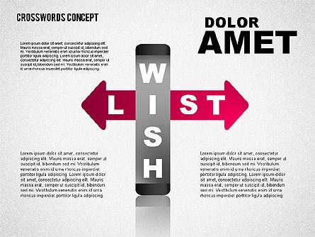 Crossword Concept, Slide 5, 01701, Business Models — PoweredTemplate.com