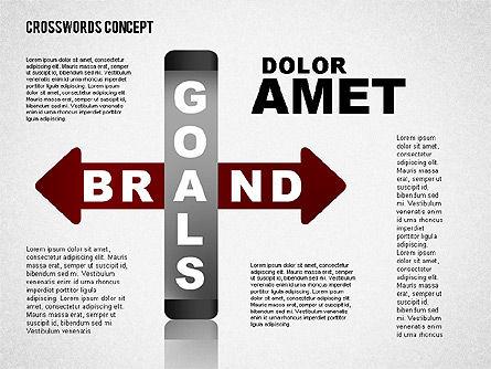 Crossword Concept, Slide 6, 01701, Business Models — PoweredTemplate.com