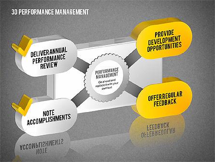 3D Performance Management Diagrams with Checks, Slide 11, 01705, Business Models — PoweredTemplate.com