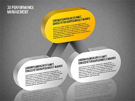 3D Performance Management Diagrams with Checks, Slide 16, 01705, Business Models — PoweredTemplate.com