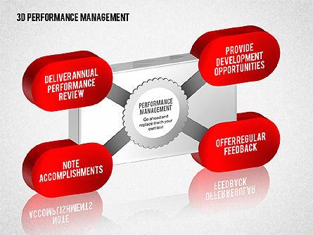 3D Performance Management Diagrams with Checks, Slide 5, 01705, Business Models — PoweredTemplate.com