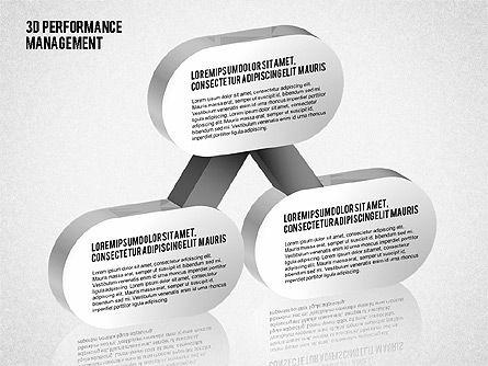 3D Performance Management Diagrams with Checks, Slide 8, 01705, Business Models — PoweredTemplate.com