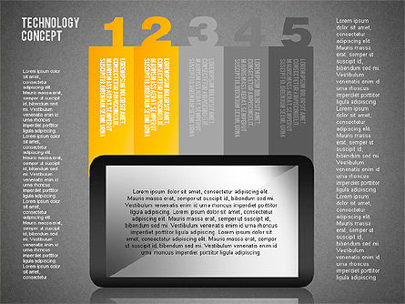Touchpad Diagram, Slide 17, 01710, Stage Diagrams — PoweredTemplate.com