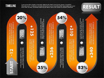 Serpentine Timeline, Slide 13, 01711, Timelines & Calendars — PoweredTemplate.com