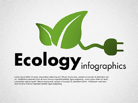 Ecology Infographics, 01716, Shapes — PoweredTemplate.com