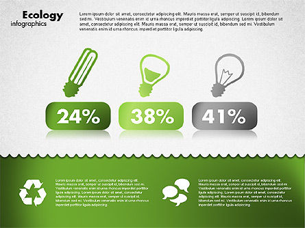 Ecology Infographics, Slide 3, 01716, Shapes — PoweredTemplate.com