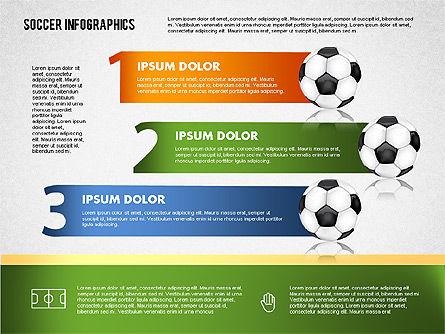 Soccer Infographics, Slide 10, 01717, Presentation Templates — PoweredTemplate.com
