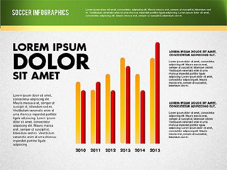 Soccer Infographics, Slide 12, 01717, Presentation Templates — PoweredTemplate.com