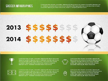 Soccer Infographics, Slide 13, 01717, Presentation Templates — PoweredTemplate.com