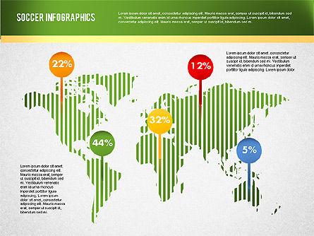 Soccer Infographics, Slide 14, 01717, Presentation Templates — PoweredTemplate.com