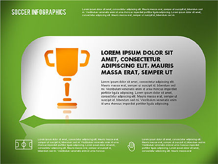 Soccer Infographics, Slide 15, 01717, Presentation Templates — PoweredTemplate.com