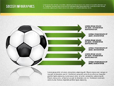 Soccer Infographics, Slide 2, 01717, Presentation Templates — PoweredTemplate.com