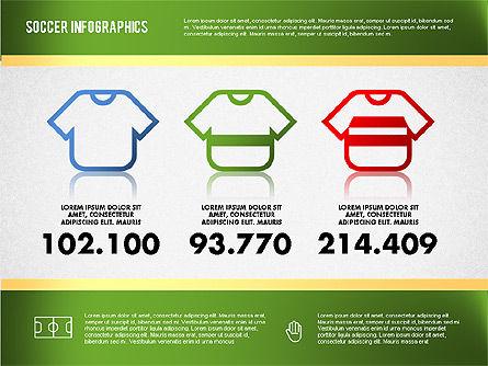 Soccer Infographics, Slide 3, 01717, Presentation Templates — PoweredTemplate.com