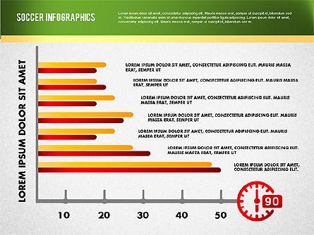 Soccer Infographics, Slide 8, 01717, Presentation Templates — PoweredTemplate.com