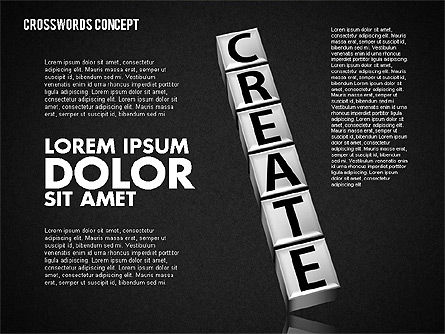 Crossword, Slide 11, 01718, Business Models — PoweredTemplate.com