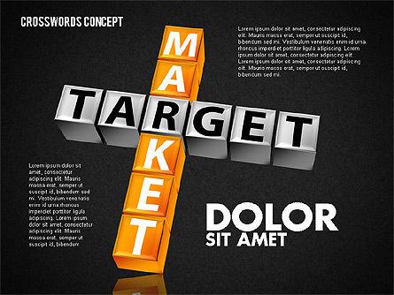 Crossword, Slide 14, 01718, Business Models — PoweredTemplate.com