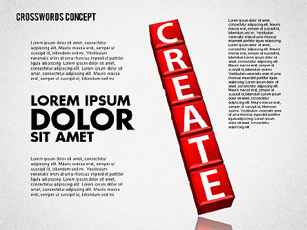 Crossword, Slide 3, 01718, Business Models — PoweredTemplate.com