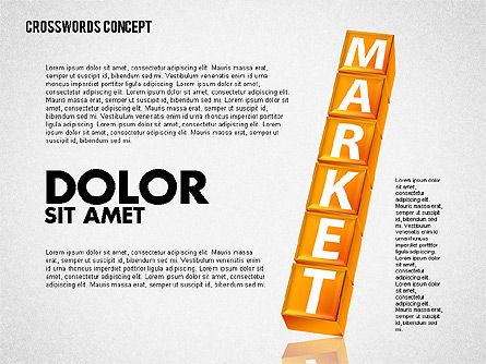 Crossword, Slide 5, 01718, Business Models — PoweredTemplate.com