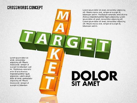 Crossword, Slide 6, 01718, Business Models — PoweredTemplate.com