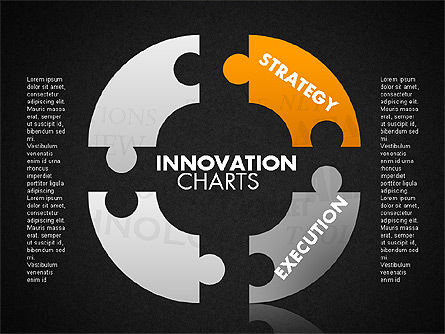 Innovation Puzzle, Slide 11, 01719, Puzzle Diagrams — PoweredTemplate.com
