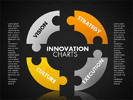 Innovation Puzzle, Slide 13, 01719, Puzzle Diagrams — PoweredTemplate.com