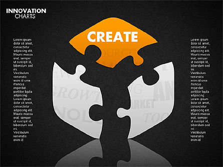 Innovation Puzzle, Slide 14, 01719, Puzzle Diagrams — PoweredTemplate.com